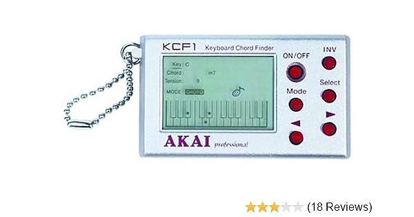 Amazon Akai Kcf1 Keyboard Chord Finder Musical Instruments