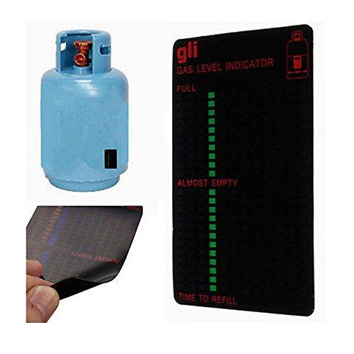 TXIN Propane Butane LPG Fuel Gas Tank Level Indicator Magnetic Gauge Caravan Bottles (Tank Level Gauge)