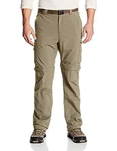 Columbia Men's Silver Ridge Convertible Pant, Tusk, 44x32-Inch