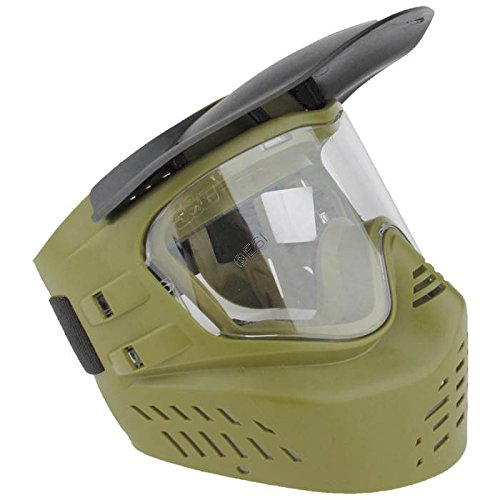 GXG XVSN Paintball Masks (Olive (No Fog Paintball Mask)