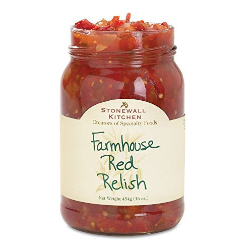 (Stonewall Kitchen Relish Farmhouse Red, 16 oz)