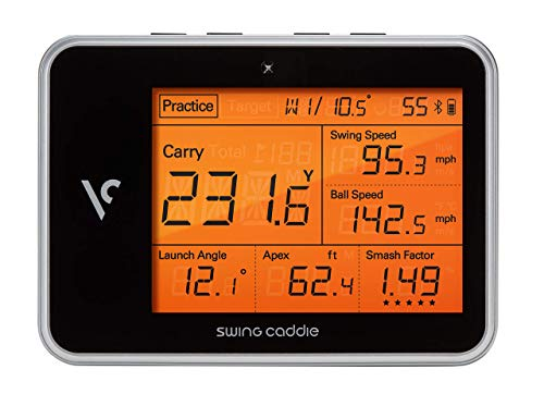 Voice Caddie Golf Swing Caddie SC300 Portable Launch Monitor (Renewed) (Best Golf Launch Monitor 2019)