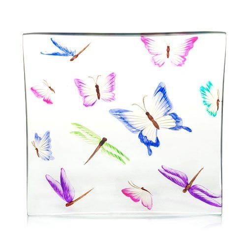 Yankee Candle Butterfly Crackle Candle or Jar Tray 1247002