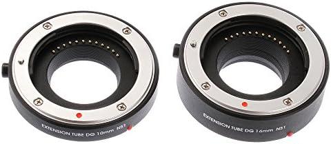 Ruili Autofokus Macro Zwischenring (10mm, 16mm) für Nikon 1 J1 J2 J3 J4 J5 V1 V3 Kamera, Extreme Nahaufnahmen