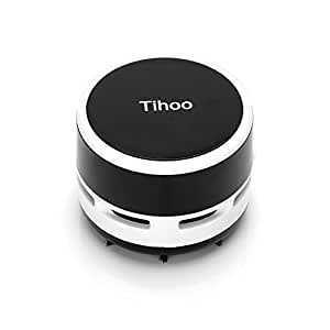 Tihoo Portable Mini Desktop Table Vacuum Cleaner Dust Collector Sweeper