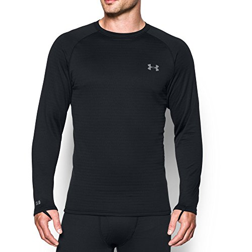 Under Armour Outerwear Men's Under Armour Men's Base 3.0 Crew, Black, -