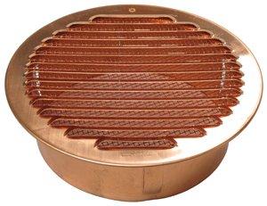 Round Copper Vent 7 1 4 Quot 150mm Diameter Soffit Vents
