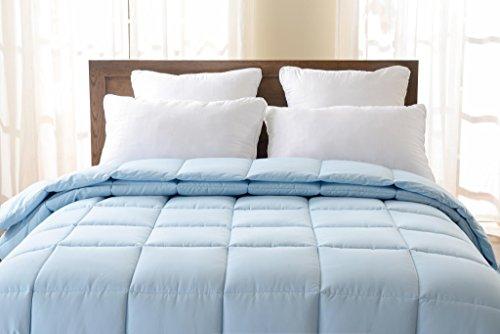 super oversized down alternative comforter fits pillow top beds king 110 x 96 light. Black Bedroom Furniture Sets. Home Design Ideas