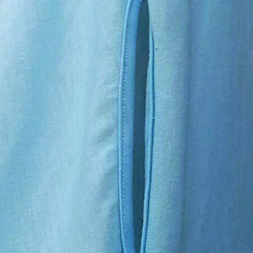 5XL Femme Chemise Noir irrgulire Taille Chemise Grande Bleu L Bleu Souris Chemise Chauve Manches dcontracte OqwZWCBS