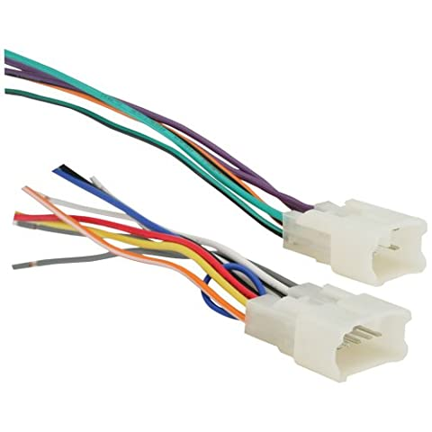 Metra 70-1761 Radio Wiring Harness For Toyota 87-Up Power 4 Speaker (2006 Toyota Sequoia Speakers)