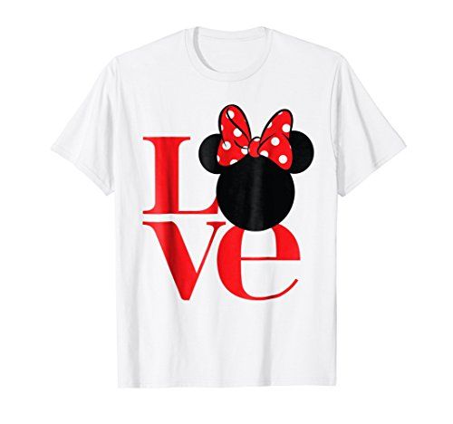 Minnie Love T-Shirt (Mr And Mrs Mickey Mouse T Shirts)