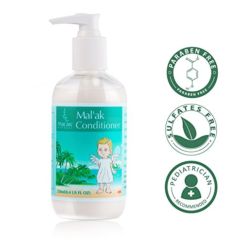 Mal'ak Baby Daiy Hair Conditioner with Natural Kernel Oil, 8.4 FL OZ