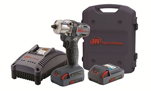 - Ingersoll Rand W5130-K2 3/8-Inch Mid-Torque Impactool, Charger, 2 Li-ion Batteries and Case Kit by Ingersoll Rand