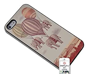 Case for Apple iphone 6 plus Fairy Flying Elephants Balloons Duraterm Technology