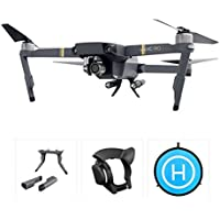 gouduoduo2018 DJI Mavic Pro Accessories 75CM Fast-fold Landing Pad & Landing Gear & Lens Hood For DJI Mavic Pro Drone