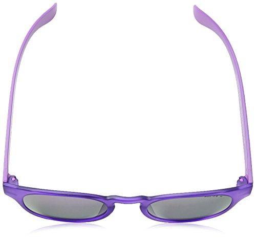 Police Frame Transparant Gafas Exchange Purple Mirror Semi 2 Redondas Violet Matt sol Lens de S1945 rxaTwqrFg