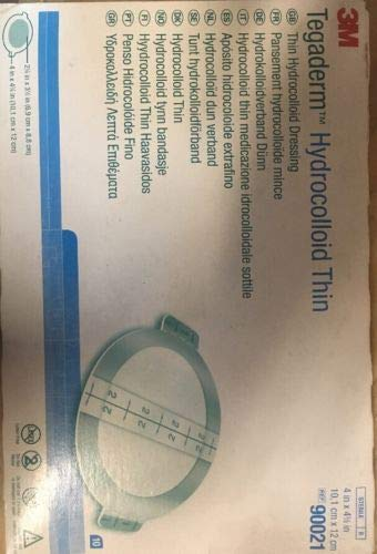 Dressing Hydrocolloid 3M Tegasorb THIN - 3M Medical 90021 ()