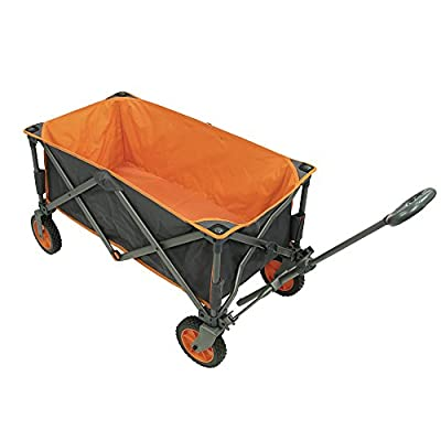 Portal Outdoor Alf Folding Trolley Wagon, Strong Study Frame, 100kg Max Load, Perfect for Festivals/Camping: Sports & Outdoors