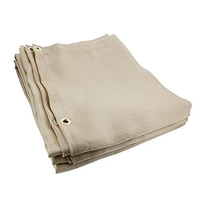 ABN Heavy-Duty Fiberglass Fire Retardant Blanket – Welding, Smoker Fireproof Thermal Resistant Insulation