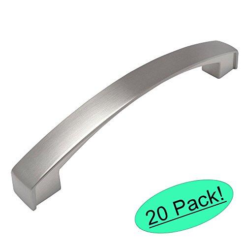 Cosmas 616-128SN Satin Nickel Modern Cabinet Hardware Arch Handle Pull - 5