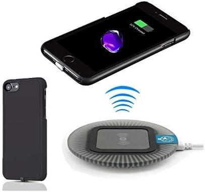 Amazon.com: Cargador inalámbrico Qi 2 en 1 para iPhone 7 ...