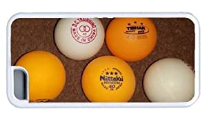 Assortment of Table Tennis Balls DIY Rubber White iphone 5C Case Perfect