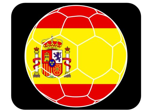 Spanish Soccer Mouse Pad - Spain