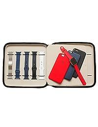 Tech Swiss TS5118BLK Apple Watch Band Storage Case