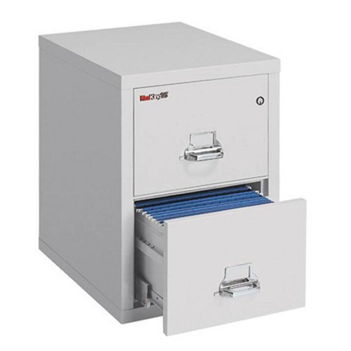 Fire King Fireproof Two Drawer Legal Size Vertical File 25