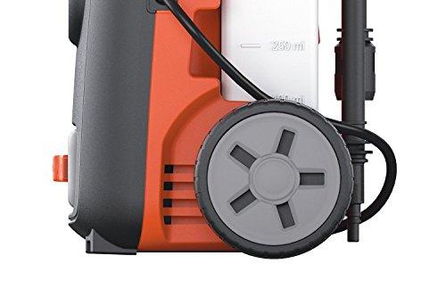 Black+Decker BXPW1400PE Idropulitrice ad Alta Pressione (1400W, 110 bar, 390 l/h) con Patio Cleaner e Spazzola Fissa, Plus 5 spesavip