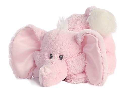Aurora Baby World Lil' Tushies Elephant Toy, Sophie Rose