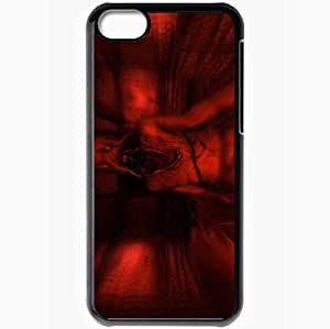 Personalized iPhone 5C Cell phone Case/Cover Skin Amnesia The Dark Descent Black