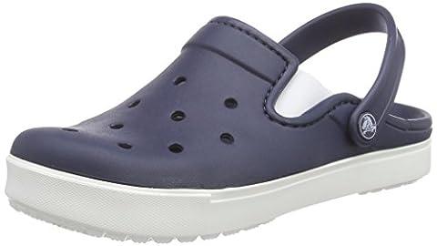 crocs Unisex Citilane Clog, Navy/White, 11 B(M) Women/9 D(M) Men US - Blue Croc