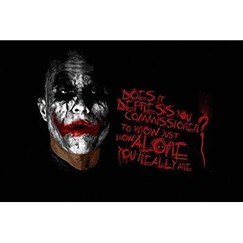 Amazon.com: TST INNOPRINT CO Joker Batman Introduce A