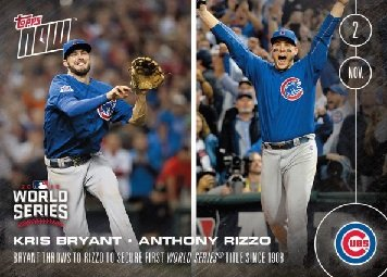 Amazoncom 2016 Topps Now 663 A Chicago Cubs Baseball Card