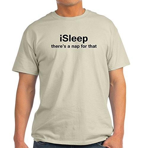 CafePress - isleep Light T-Shirt - 100% Cotton T-Shirt -