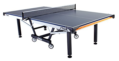 STIGA STS 420 Table Tennis Table (Roll Levelers Off)