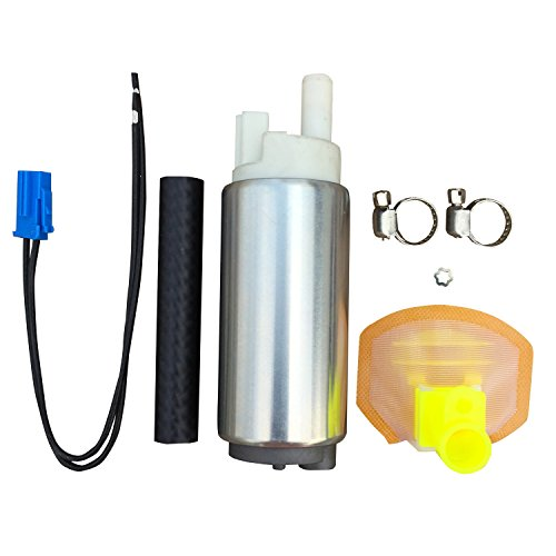 Nileux In-tank EFI 5/16'' Inlet Outlet Replacement Fuel Pump with Necessary Installation Kit Fuel Inlet Kit