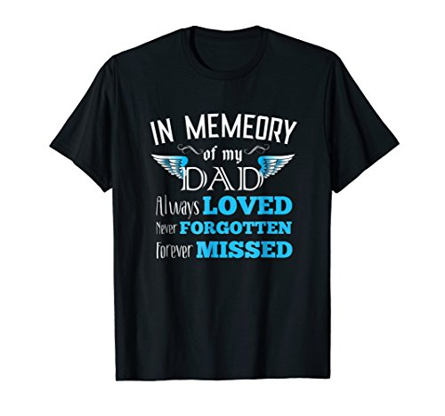 Guardian Angel Dad Shirt From Daughter Sons Memory Forever (Prayer For Saying Goodbye To A Loved One)