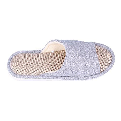 WILLIAM&KATE Zapatillas unisex de moda Zapatillas antideslizantes casual Zapatillas de baño de interior y al aire libre Azul