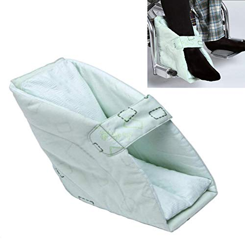 YAOBAO Heel Cushion Protector, Heel-Float Heel Protector to Relieve Pressure from Sores and Ulcers, Can be Fixed to The Wheelchair Footboard (1pcs) ()