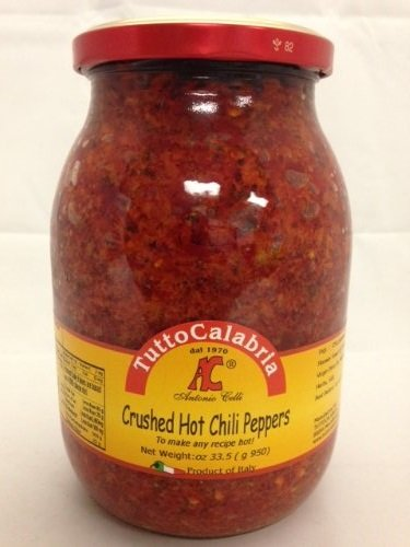 Tutto Calabria Crushed Hot Chili Peppers 33.5oz