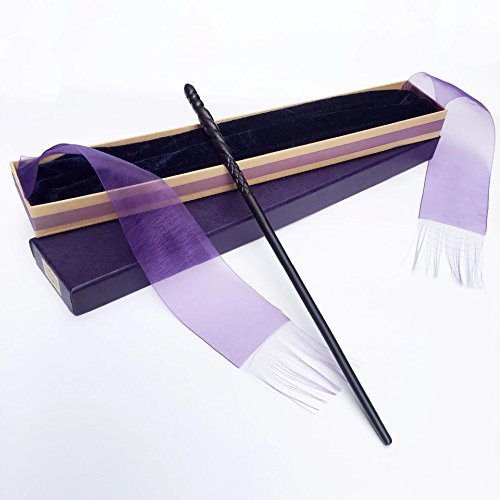 New Arrive Metal/Iron Core Ginny Weasley Magic Wand,Ginny Weasley Wand ,Elegant Ribbon Gift Box Packing