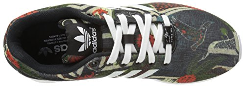 Synthétique white black Adidas Baskets Flux Zx Black 46fSOcEXO