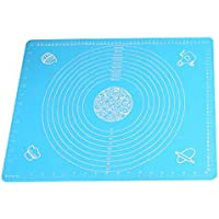50x40cm Silicone Rolling Fondant Mat Cake Dough Fondant Rolling Kneading Mat Baking Mat With Scale