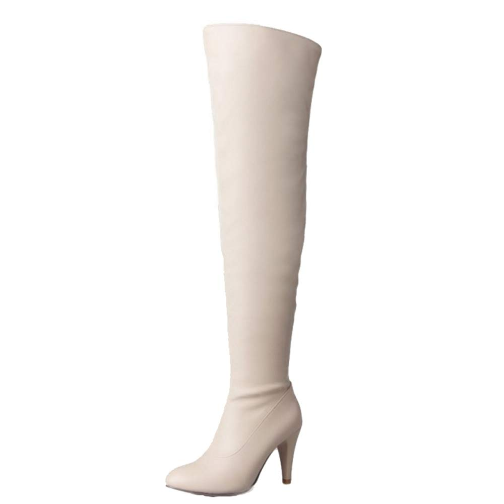 Chicmark, Bottes Chicmark, pour Femme 19958 Bottes Beige f4a772b - fast-weightloss-diet.space