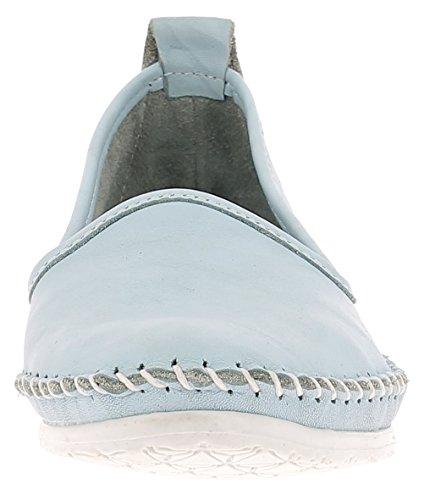 Andrea Conti 0027449 Damen Slipper H.blau