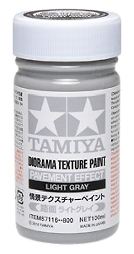 Amazoncom Diorama Textured Paint Pavement Effect Light Gray