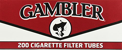Cigarette Tubes Rolling - Gambler Regular King Size Cigarette Tubes (5 Boxes)