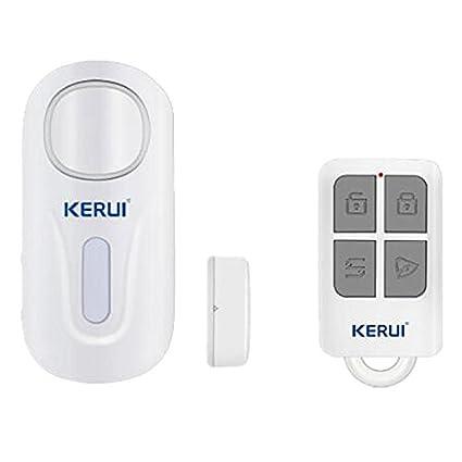 KERUI - Lot de 2 puerta y ventana alarma, KERUI inalámbrico ...
